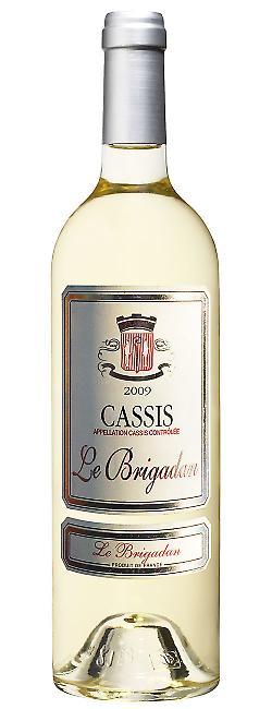 Bouteille Le Brigadan, AOC Cassis