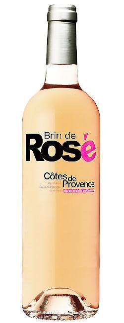 Bouteille Brin de Rosé, AOC côtes de Provence rosé
