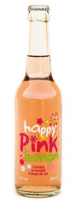 Happy Pink Lemon | Vin cocktail à base de vin