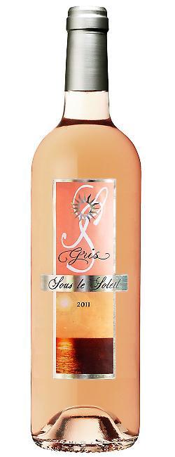 Bouteille de Sous le Soleil, vin de pays des Bouches du Rhône