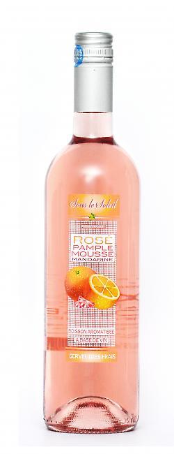 Rosé Pamplemousse / Mandarine | Boisson aromatisée à base de vin